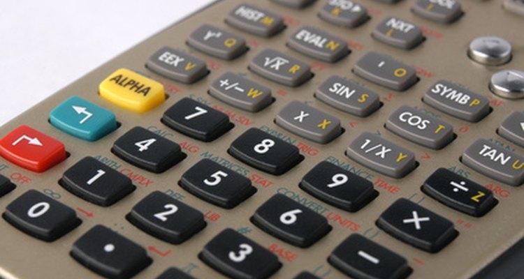 Mudando o modo de uma calculadora científica da Casio