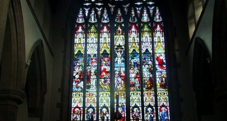 Church windows are meant to be beautiful as well as functional.