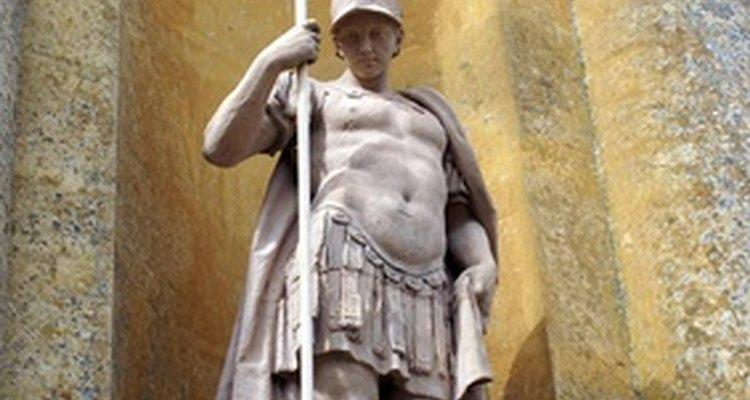 Los soldados de la Grecia antigua escogieron la lanza como arma de batalla.