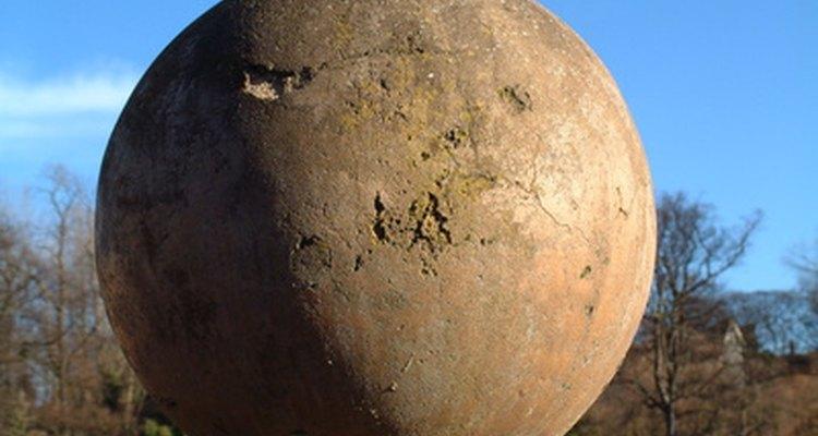 Uma esfera decorativa