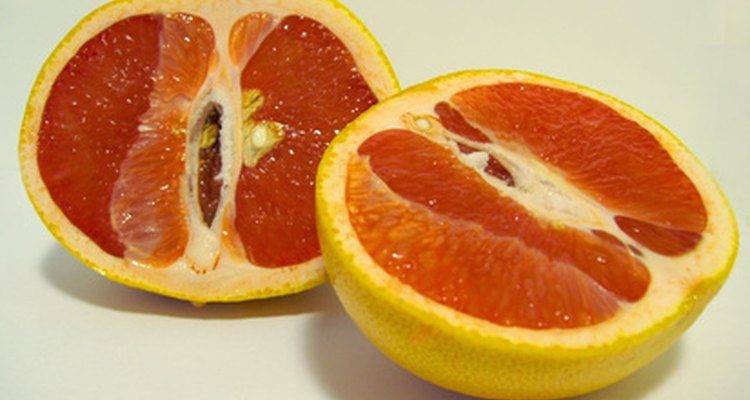 Grapefruit is rich in the fibre called pectin that helps the body get rid of toxins.