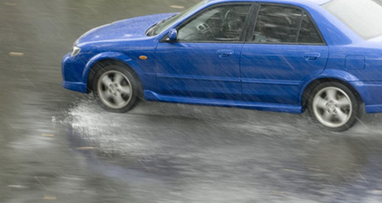 Wet road conditions increase your stopping distance.