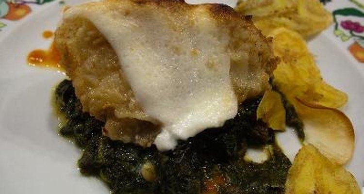 Se pueden lograr recetas sabrosas a base de espinacas.