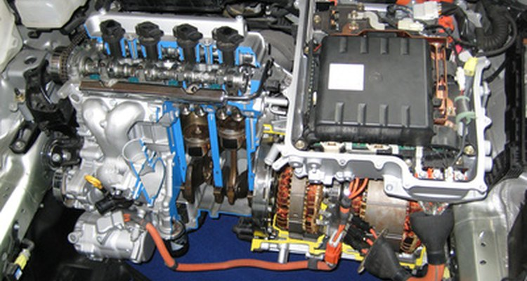 Both series and parallel hybrids combine an electric motor with a gasoline engine.