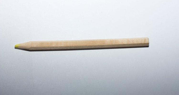 Utiliza un lápiz para marcar líneas.