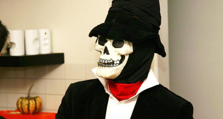 Los sombreros a menudo coordinan con el disfraz.