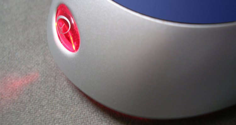 A computer mouse is a common input device.