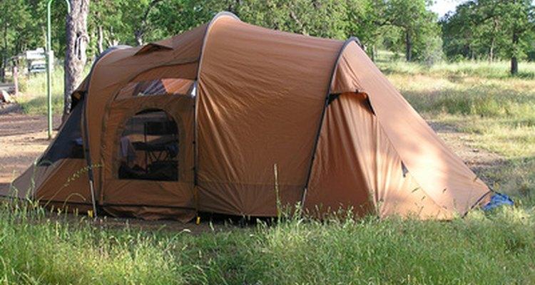 Lave bem sua barraca antes de usá-la para acampamentos