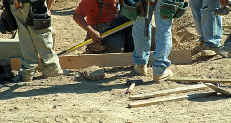 Building a concrete form involves use of  releasing oil.