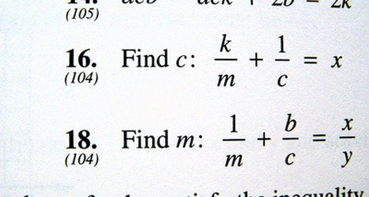 Calculating energy transfer usually involves some algebra.