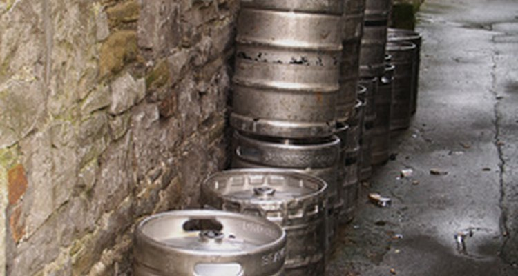 Empty kegs can be converted into barbecue smokers.