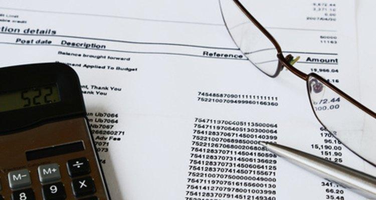 Faturas e extratos são documentos comerciais comuns
