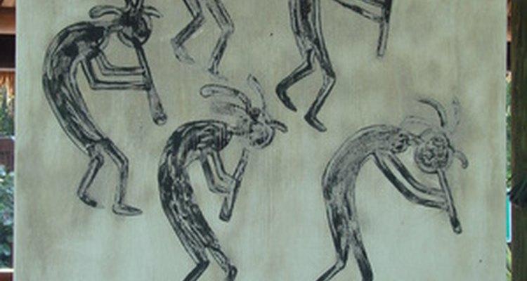 Arte étnica tradicional