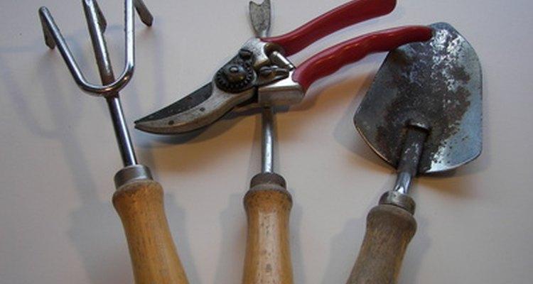 Conocer los nombres de las herramientas de tu jardín te ayudará a seleccionar las herramientas correctas.