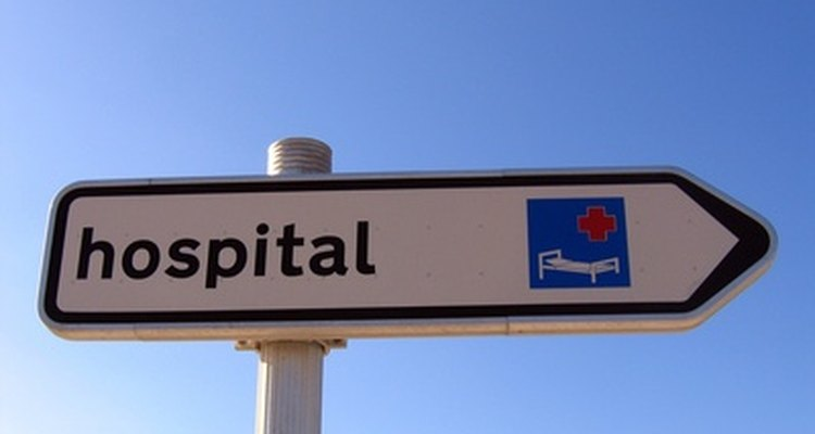 Hospital registrars collect data from patients.