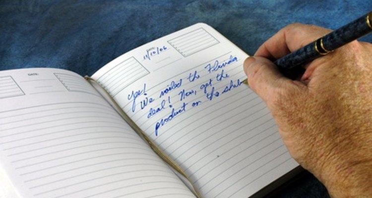 Escrever pode ser terapêutico durante a fase de luto