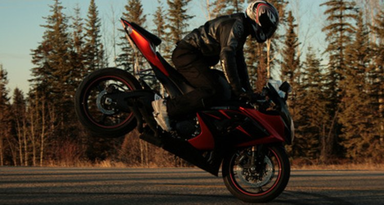 Motorcycles have gears that set the vehicle in motion.