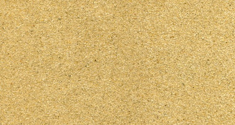 Use medium-grit sandpaper first.