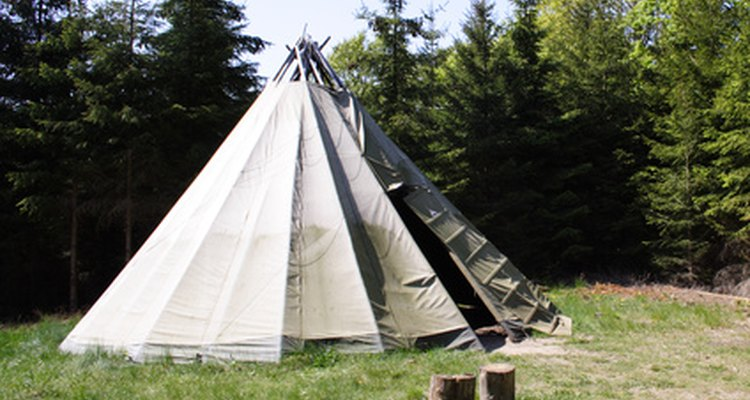 Period tents need period rope tensioners