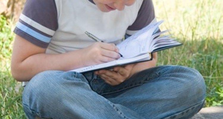 Faça os estudantes começarem a escrever a história