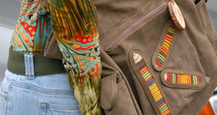 Los bolsos de tela pueden ser reparados fácilmente.