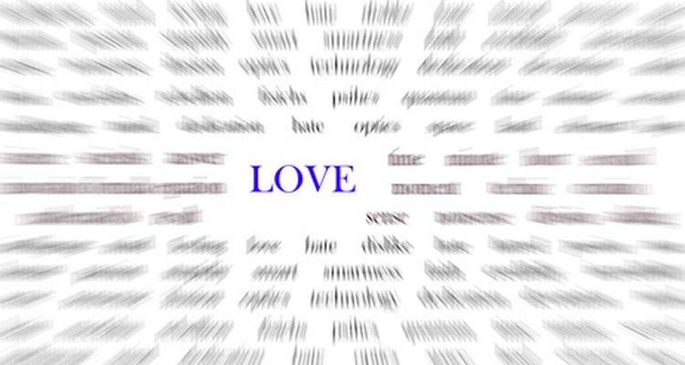 No escondas tu amor en frases y conversaciones que son cariñosas.