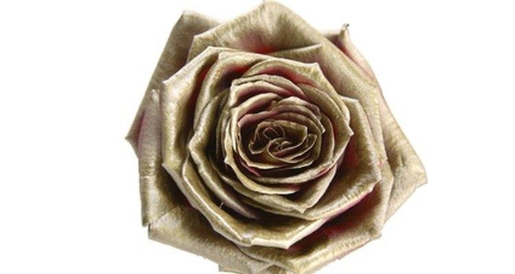 La rosa dorada es el símbolo de la casa Lancome.