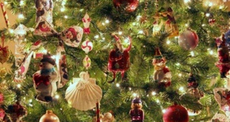 El árbol de Navidad es una planta tradicional.