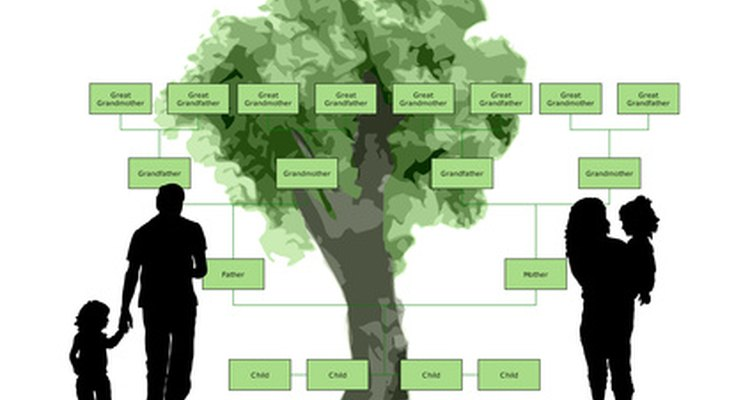 Create a family tree in Microsoft Word.