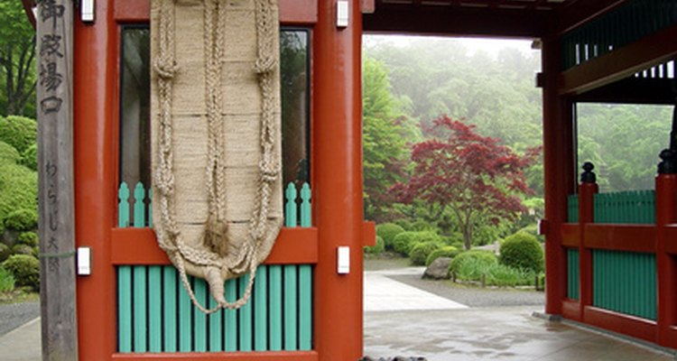 It is common for a Japanese garden to have enclosures.