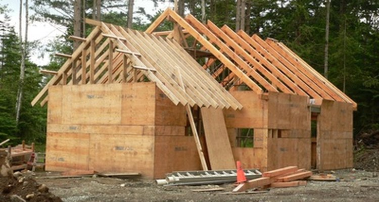 The ridge board and rafters are the strength of the roof.