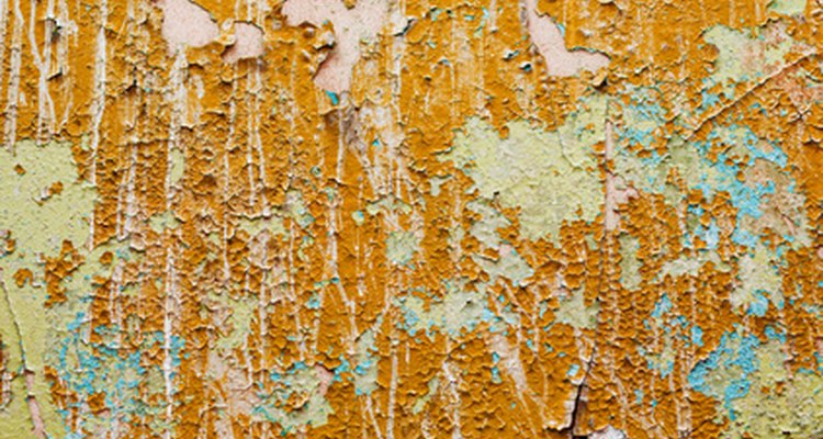 Removing layers of old paint can be time-consuming.