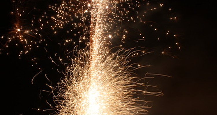 Nitrato de sódio: utilizado em fogos de artifício