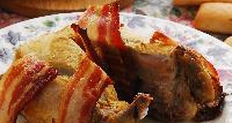 Cerdo al horno.
