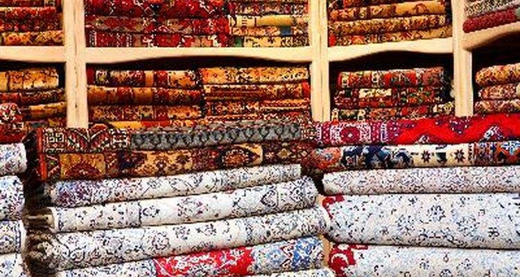 Existen varios tipos de alfombras.
