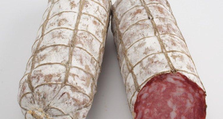 Uno de los manjares de la cocina italiana: el salami.