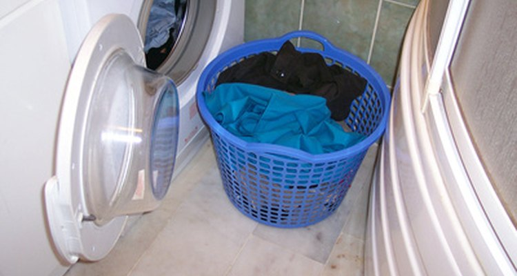 Wash clothes with fibreglass separately.