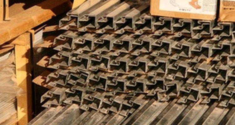 Aço galvanizado é facilmente identificável com um teste simples