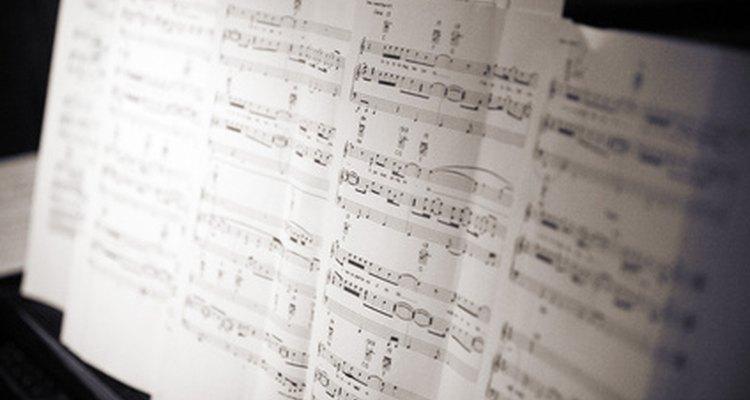 O Sibelius 6 pode ser usado para compor música clássica, jazz, estilo Broadway e outros gêneros