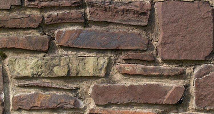 An example of a masonry wall.