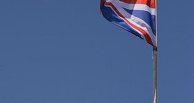 La bandera británica combina las características de las banderas inglesa, irlandesa y escocesa.