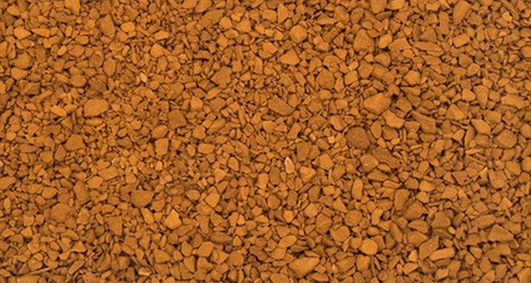 Fertilizante granular.
