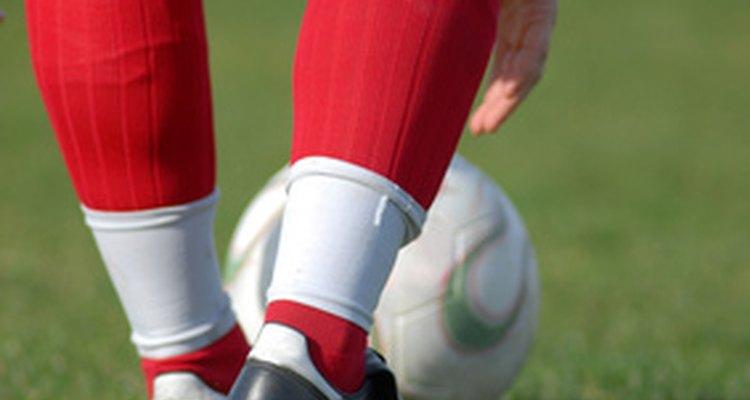 A fita pode ajudar a manter as caneleiras na posição correta