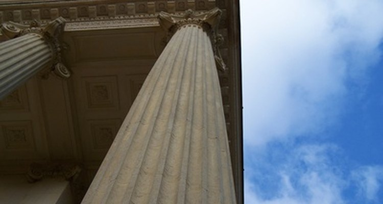 Columns were used in many types of architecture.