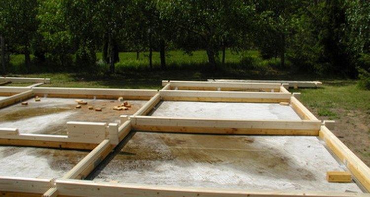 A fundação é um dos elementos mais importantes em uma casa