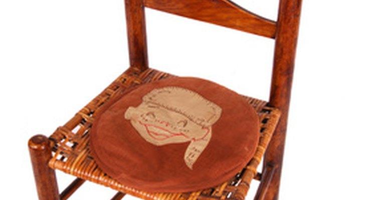 A cadeira pequena funciona para o castigo
