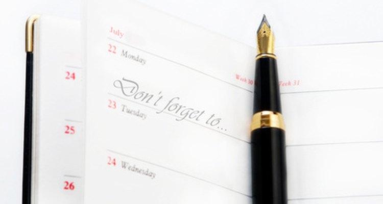 Crea una lista de control para evitar que olvides detalles importantes.