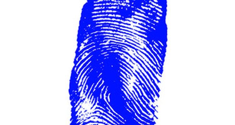 Una huella digital es a menudo una prueba crucial en un caso criminal.