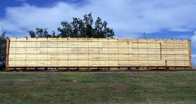Wood is a popular material for double-sided fences.