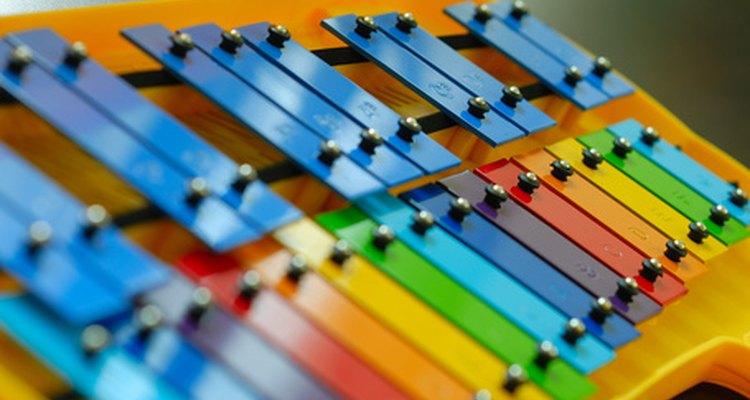 Pode-se fazer um xilofone com tubos de PVC